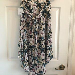 BNWT O'Neill Floral Midi Skirt